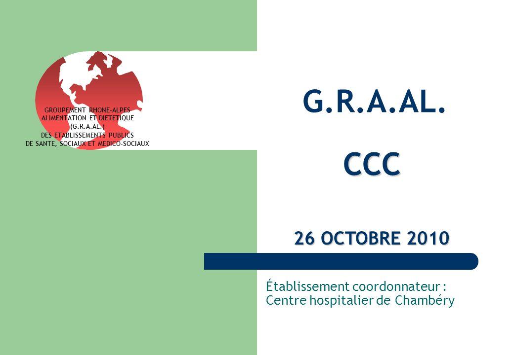 Établissement coordonnateur : Centre hospitalier de Chambéry