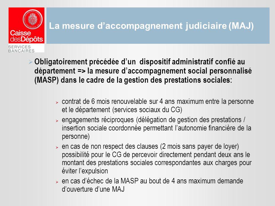 La mesure d'accompagnement judiciaire (MAJ)