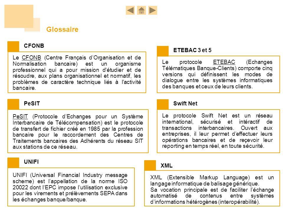 Glossaire CFONB ETEBAC 3 et 5