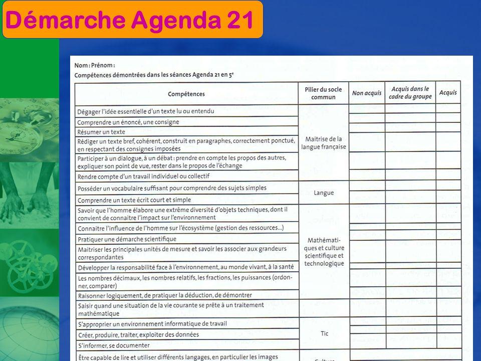 Démarche Agenda 21