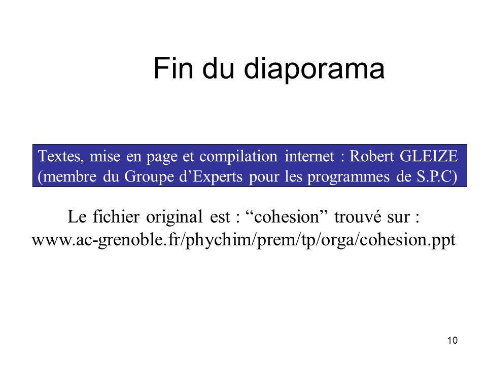 Le fichier original est : cohesion trouvé sur :
