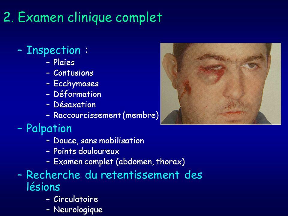 2. Examen clinique complet