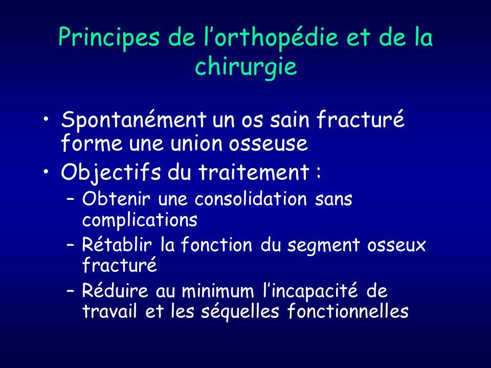 Principes de l'orthopédie et de la chirurgie