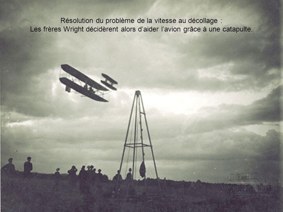 Résolution du problème de la vitesse au décollage :