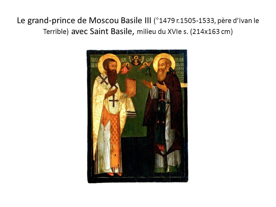 Le grand-prince de Moscou Basile III (°1479 r