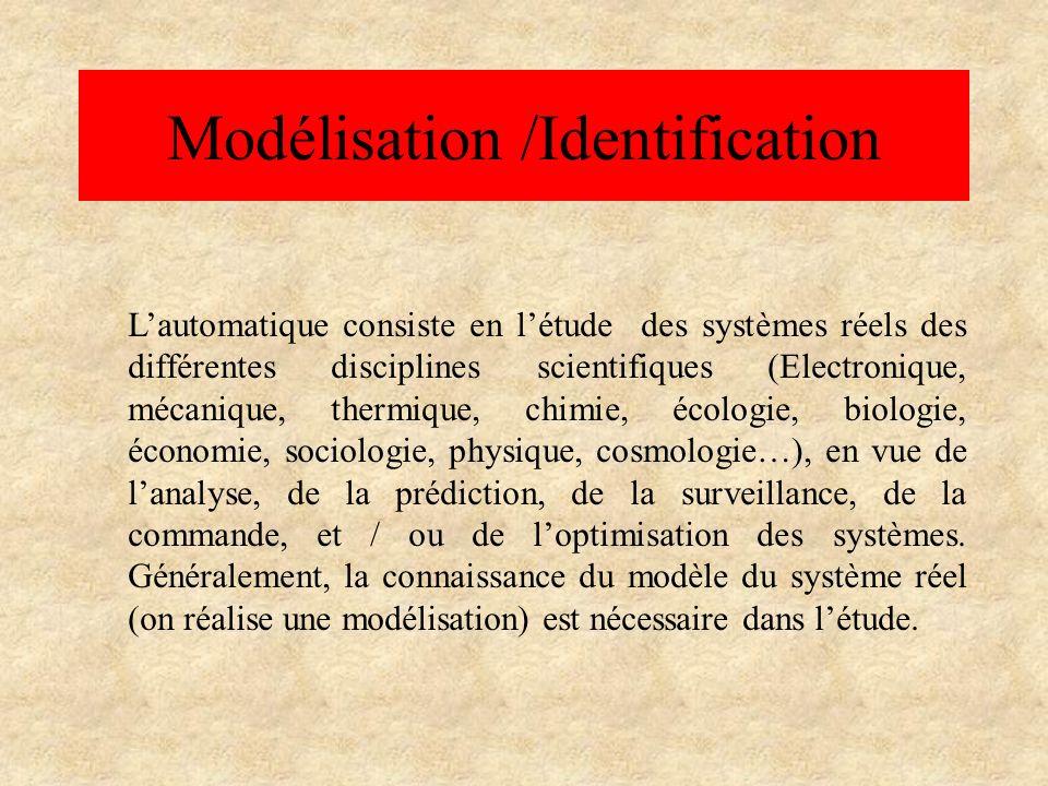 Modélisation /Identification