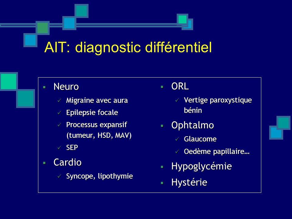 AIT: diagnostic différentiel