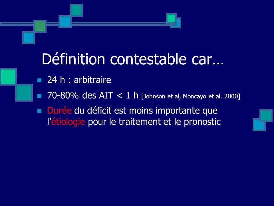 Définition contestable car…