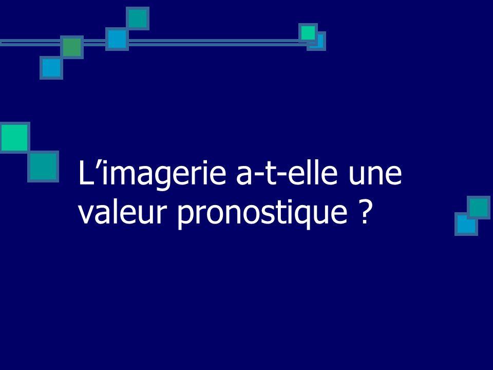 L'imagerie a-t-elle une valeur pronostique