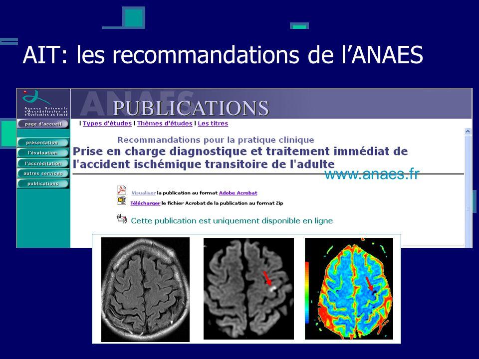 AIT: les recommandations de l'ANAES