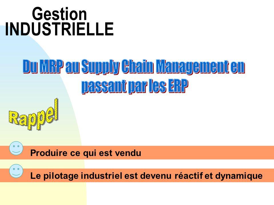 Du MRP au Supply Chain Management en