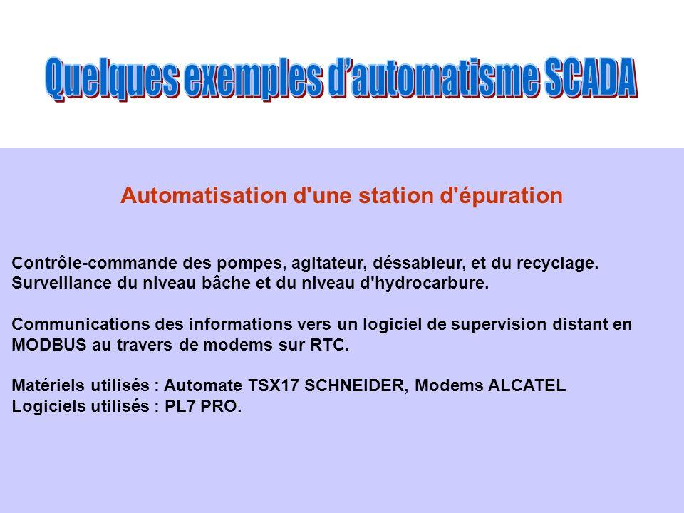 Automatisation d une station d épuration