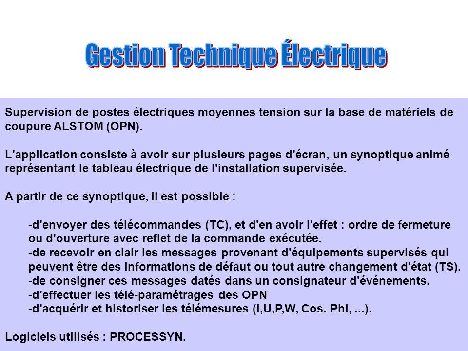 Gestion Technique Électrique