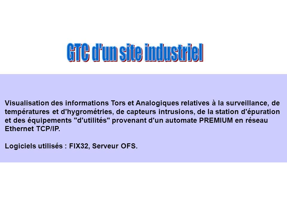 GTC d un site industriel