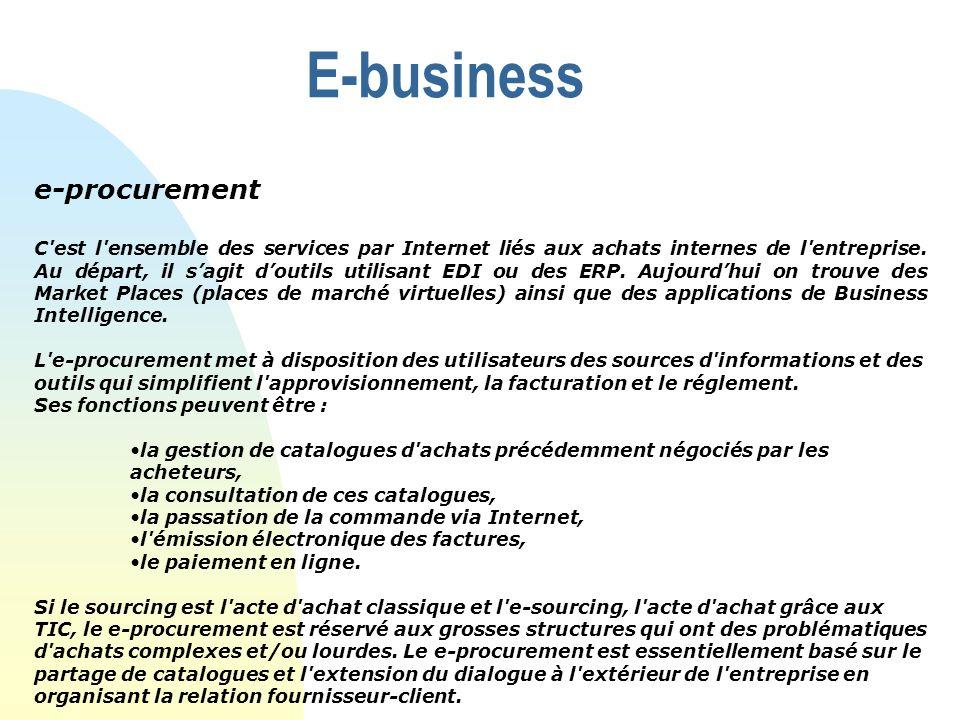 E-business e-procurement