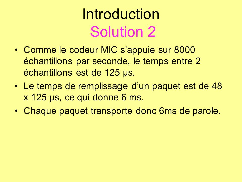 Introduction Solution 2