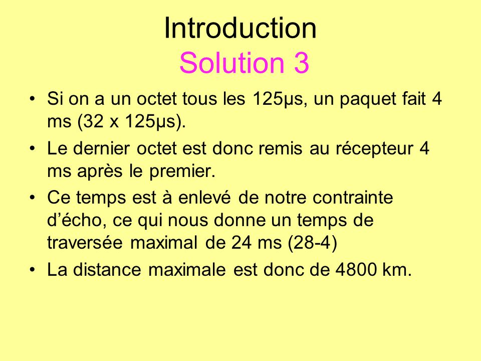 Introduction Solution 3
