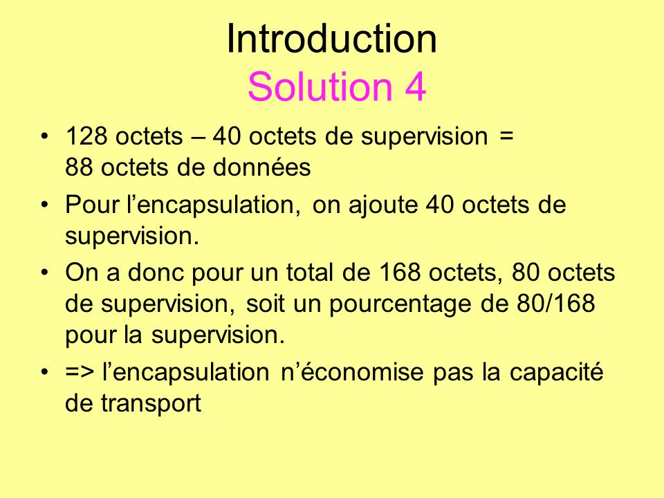 Introduction Solution 4
