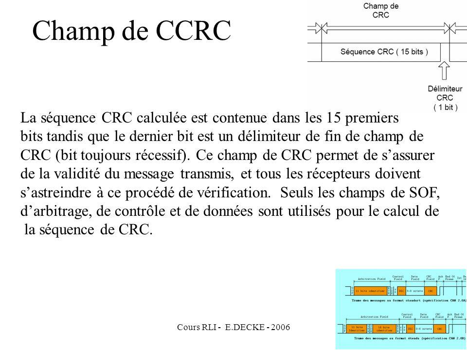 Champ de CCRC