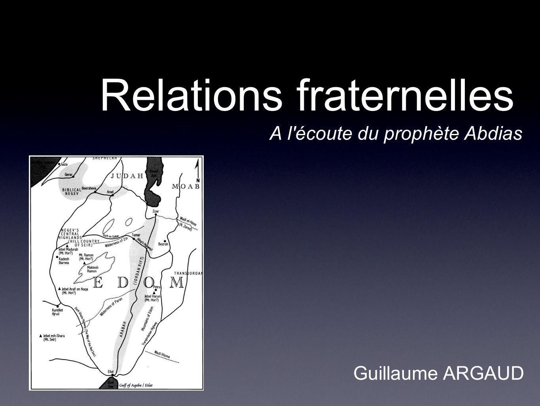 Relations fraternelles