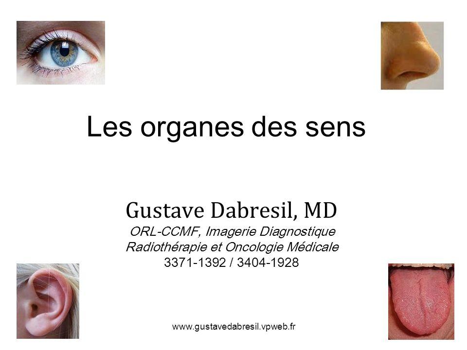 Les organes des sens Gustave Dabresil, MD