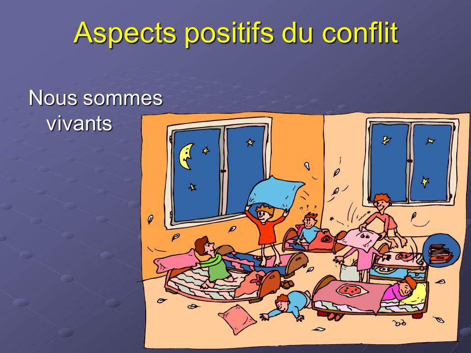 Aspects positifs du conflit