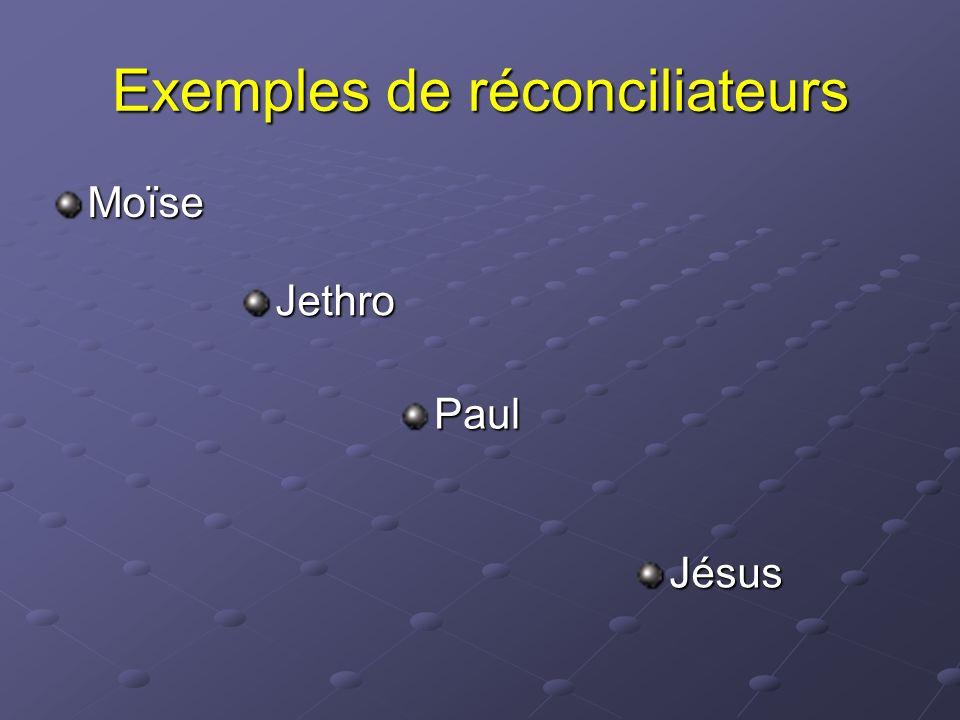 Exemples de réconciliateurs