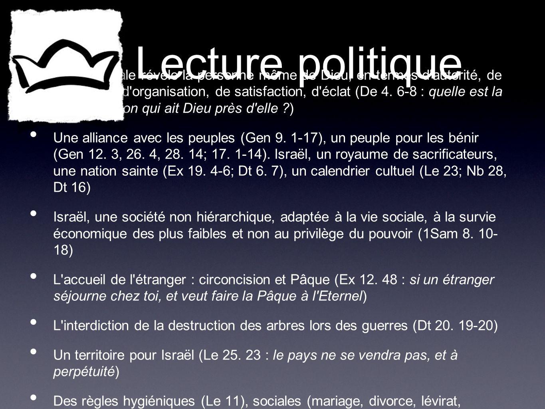 Lecture politique