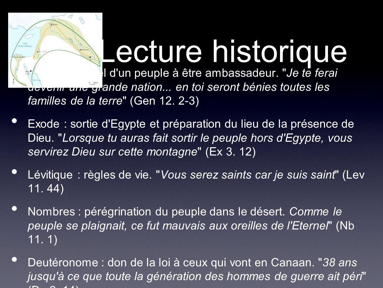 Lecture historique