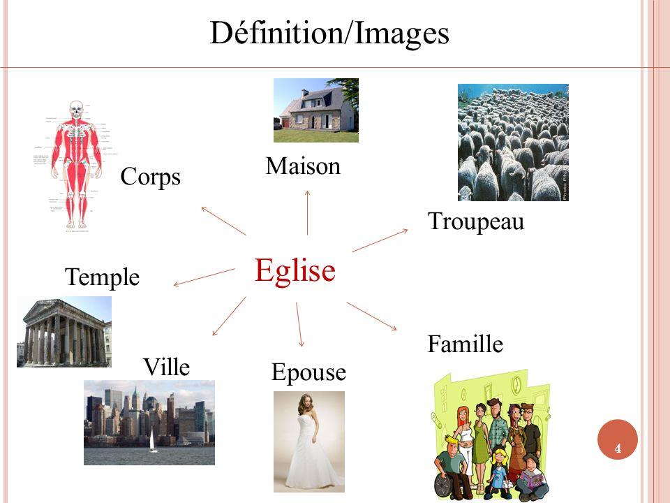Définition/Images Eglise Maison Corps Troupeau Temple Famille Ville