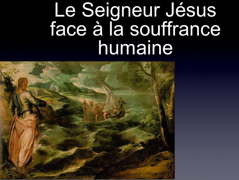Le Seigneur Jésus face à la souffrance humaine