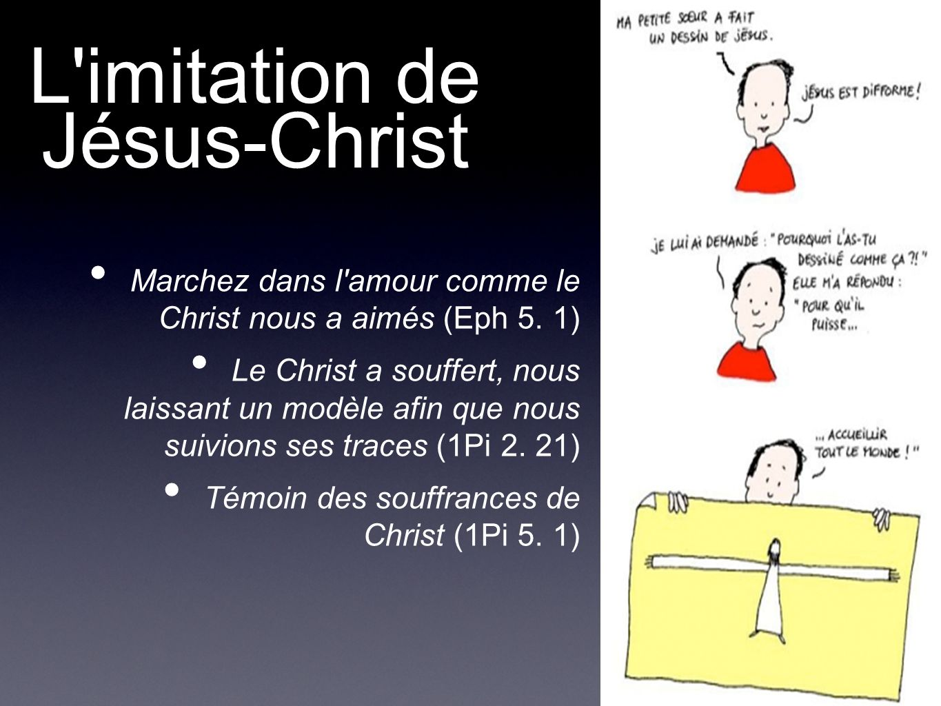 L imitation de Jésus-Christ