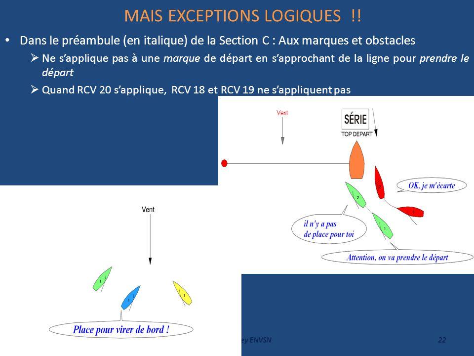 MAIS EXCEPTIONS LOGIQUES !!