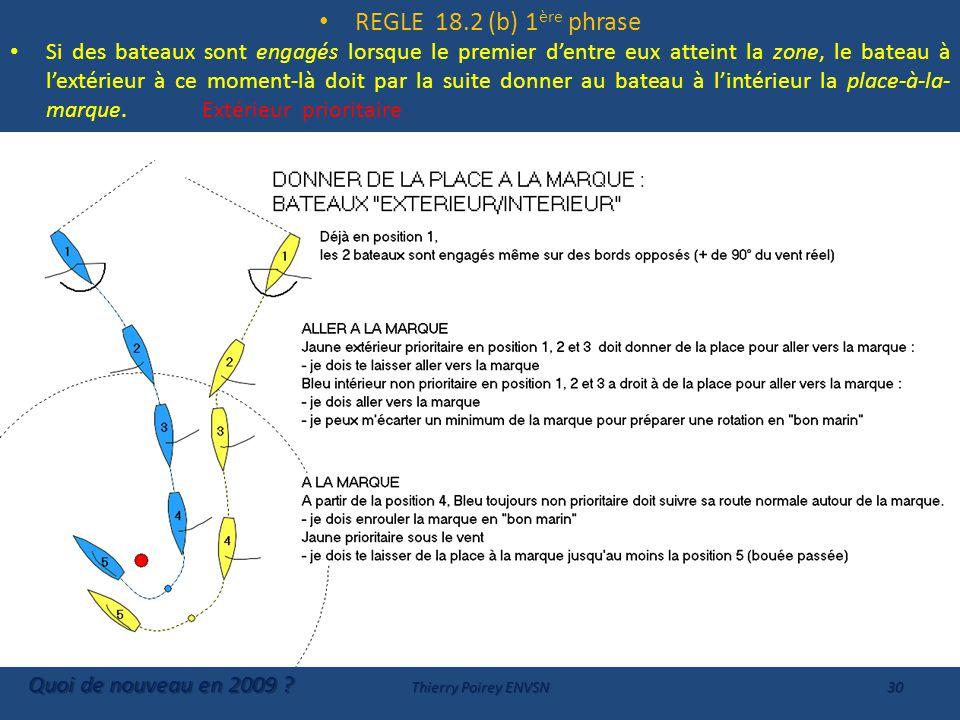 REGLE 18.2 (b) 1ère phrase