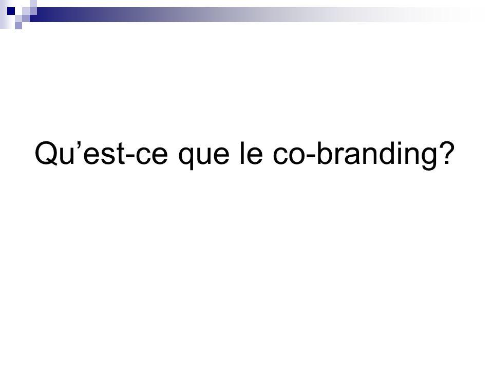 Qu'est-ce que le co-branding