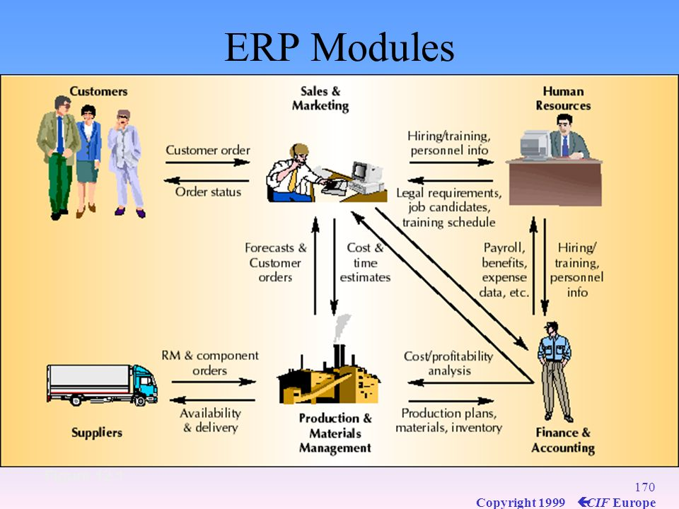 ERP Modules Figure 12.1
