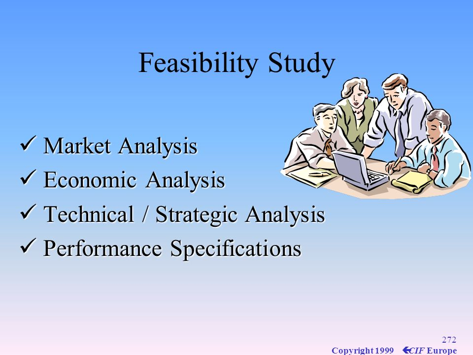 Feasibility Study Market Analysis Economic Analysis