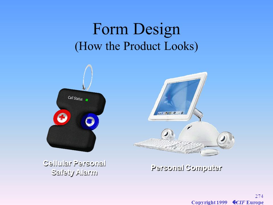 Form Design (How the Product Looks)