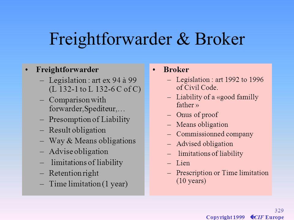 Freightforwarder & Broker