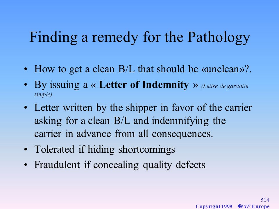 Finding a remedy for the Pathology