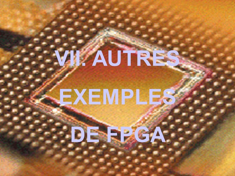 VII. AUTRES EXEMPLES DE FPGA