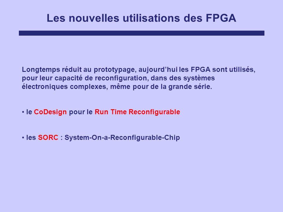 Les nouvelles utilisations des FPGA