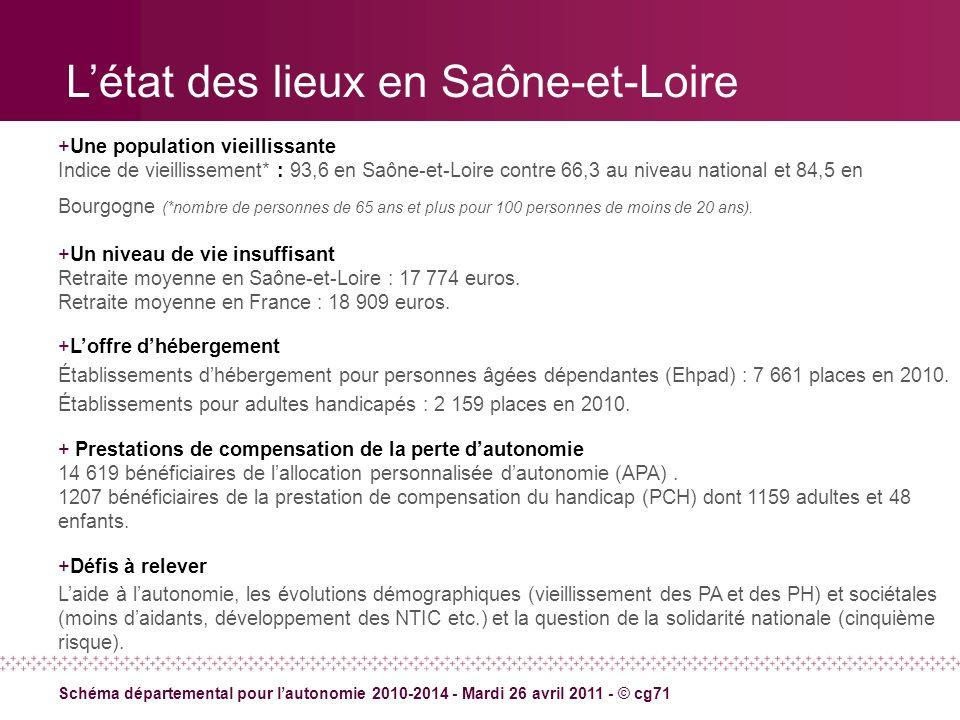 L'état des lieux en Saône-et-Loire