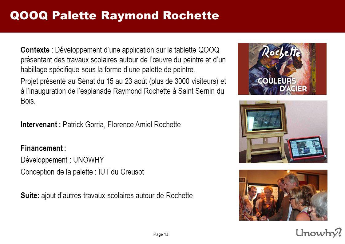 QOOQ Palette Raymond Rochette
