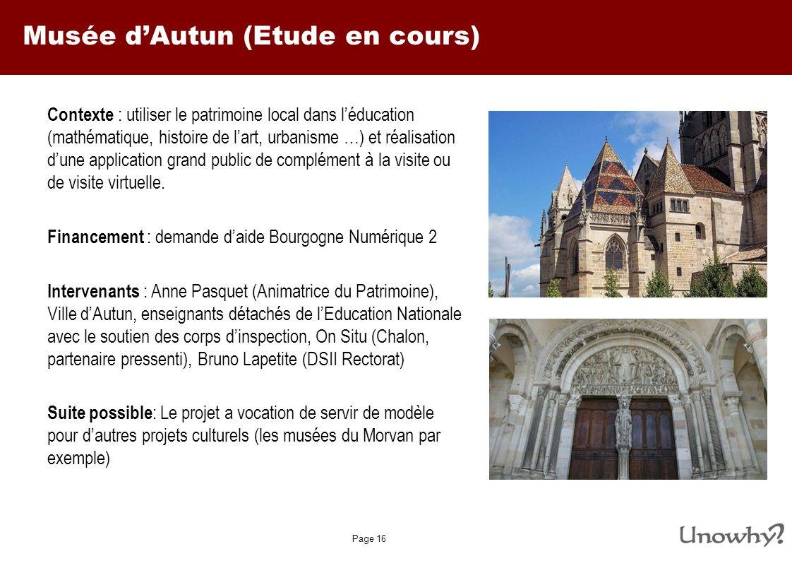 Musée d'Autun (Etude en cours)