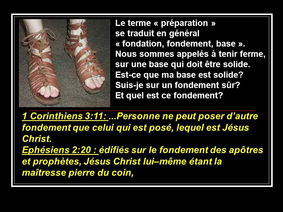 Le terme « préparation »