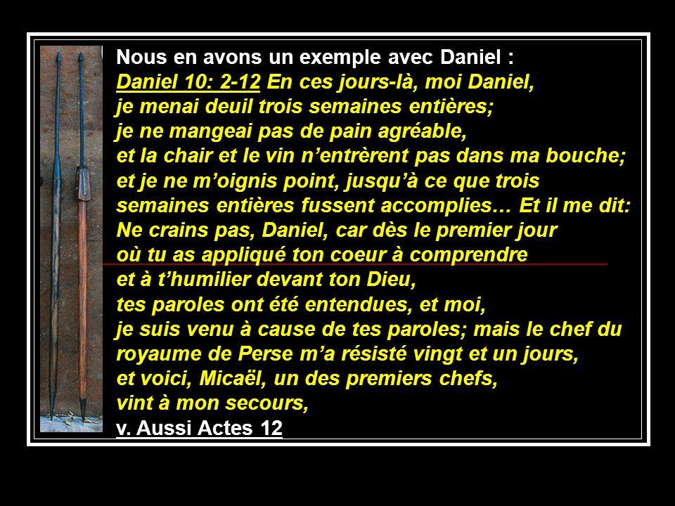 Nous en avons un exemple avec Daniel :