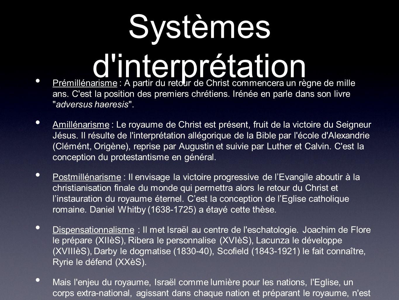 Systèmes d interprétation