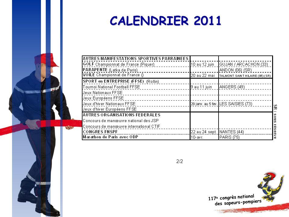 CALENDRIER 2011 2/2