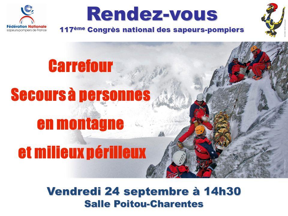117ème Congrès national des sapeurs-pompiers Salle Poitou-Charentes